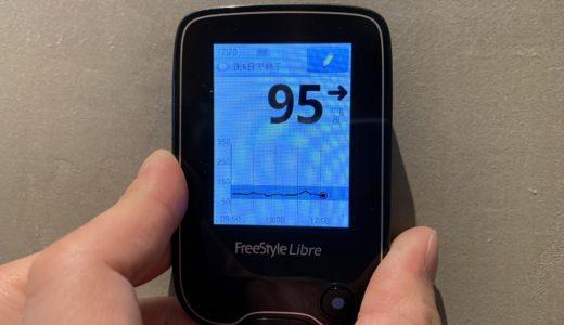 血糖値14日間徹底調査をはじめました。
